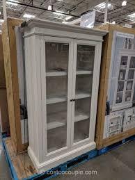 universal broadmoore glass door bookcase