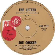 joe cocker with leon russell and the shelter people the letter am 2