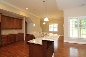 Angled island layout Traditional Kitchen Raleigh by Stanton