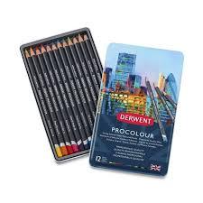 Derwent Procolour Lightfast Chart Derwent Procolour Color Pencil Sets