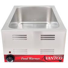 120 volts avantco w50 12 inch x 20 inch full size electric countertop food warmer 120v