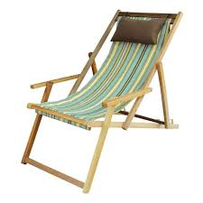 wooden deck garden chair furniture in pune with arm rest pillow evanwood