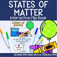 States Of Matter Interactive Flip Book Southern Fried Teachin