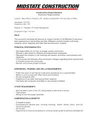 Construction Resume Sample Free Amazing Construction Resume