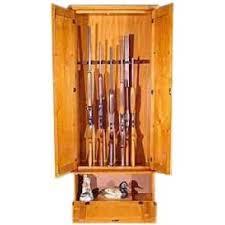 Solid Wood Gun Cabinets | USA Made | PremierGunCabinet.com