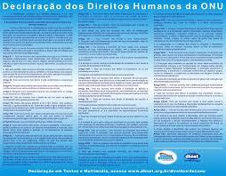 principais artigos dos direitos humanos