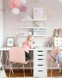 pink home office design idea. Adorable Cute Desks For Bedrooms Of Interesting Room Desk Ideas Top Small Office Design With Best Home: Pink Home Idea