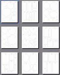 Scrapbooking Tags Templates Printable Shapes