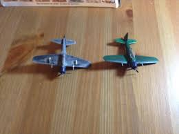the planes after the firsts painting steps