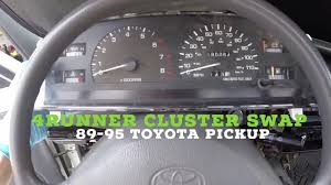 How to Install Toyota Pickup Cluster SR5 4Runner Upgrade (Tach ...