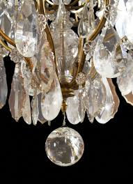 antique crystal chandelier parts image and candle