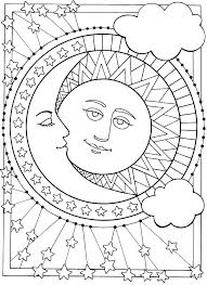 650x893 moon coloring pages sun and moon coloring pages celestial sailor