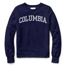 Red Shirt Classic Crew Sweatshirt The Columbia University