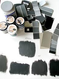dark charcoal paint decision