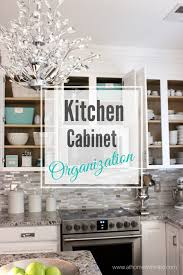 the one thing that i was really excited about with our kitchen renovation was being able to organize my cabinets not that they were not already organized