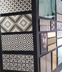 encaustic tiles are made of two or more colours of clay and are inlaid together to create the pattern and then fired they have been around since meval