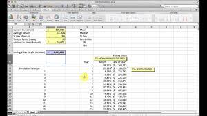 Basic Monte Carlo Simulation Of A Stock Portfolio In Excel