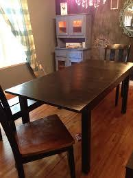 how i forced an ikea table to turn into a diy farmhouse table photos survivemag