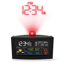 best projection clock hammacher schlemmer