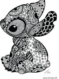Stitch Coloring Pages Ohana Bltidm