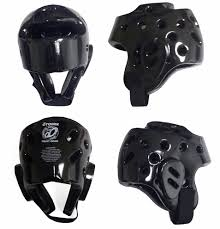 Black Sparring Headgear