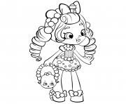 Shopkins Shoppies Coloring Pages Free Printable