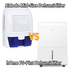 Aidodo Mid-Size Dehumidifier vs. hOme 70-Pint Dehumidifier
