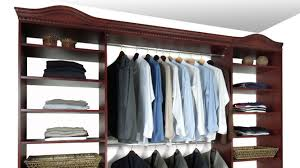 Wood closet shelving Shelving Ideas Closet System Cherry Ana White Closet Organizers Closet Systems Solidwoodclosets