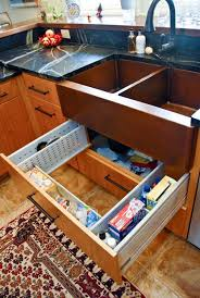 sink drawer surround plumbing the sink drawer is adjule to fit around the plumbing and