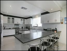 kitchen l shaped kitchen designs with breakfast bar and white cabinet with