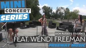 "Freeway Music - Wendi Freeman Sings Her Original Song ""Not A Good Pursuit""    Mini Concert Series   Facebook"
