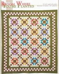 Shadow Stars from Weekend Quilts | My quilt books 1 | Pinterest ... & Bloom Where You're Planted from Weekend Quilts Adamdwight.com