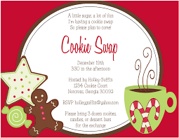 cookie exchange invitation templates com best images of printable cookie exchange invitation