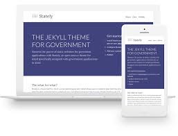 The Jekyll Theme For Government Stately