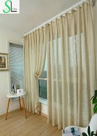 Purple Living Room Curtains Slow Soul Green Brown White Beige Purple Cotton Linen Curtains