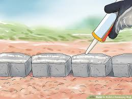 image titled build a retaining wall step 13