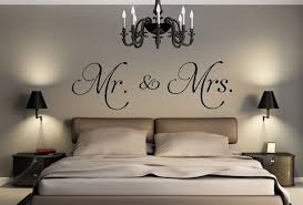 Hot Sale Mr. U0026 Mrs. Vinyl Wall Decal Living Room Bedroom Decor Stickers  Removable