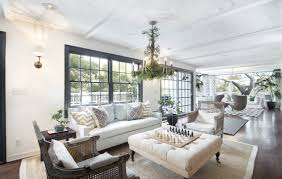 View in gallery The living room in Olivia Newton John's Former Ranch Style  home 900x570 Outstanding Ranch Style House