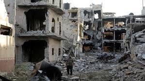 Image result for destroyed buildings war