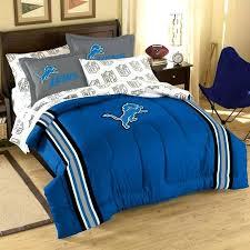 lions comforter set throughout plans nfl bedding queen sheet com football logo 5 piece twin comforters sets bedding