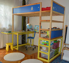 bunk bed office. Full Size Of How To Hack Kura With Study Desk Bunk Beds Ikea Hackers White Wood Bed Office