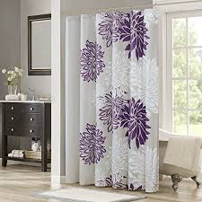 purple and silver shower curtain. Amazon Com Comfort Spaces Enya Shower Curtain Purple Grey For Gray And Decorations 13 Silver