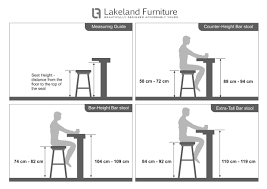 Bar Stool Size Chart Bar Stool Size Guide What Height And Width Should It Be