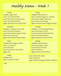 weekly meal planning for two healthy weekly meal plan with grocery list grocery list template