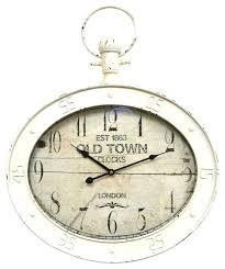 pocket watch wall clock pocket watch wall clock traditional clocks by home pocket watch wall clock black