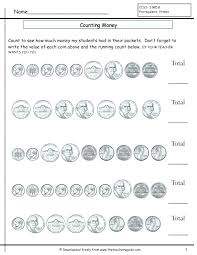 Free Printable Money Math Worksheets Counting Coins Worksheets Free ...