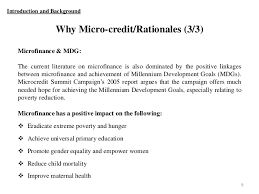 micro finance pros and cons more income 8 9