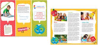 Sample Preschool Brochure daycare brochure Besikeighty24co 1