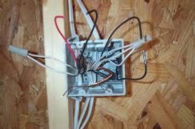 using grounding bar inside 3 gang metal outlet box terry love this box has a three way for one light and a single pole for the other light the single pole is powered from the hot in and hot out and the three way is