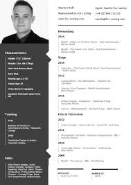 Layout Resume Cv Format Layout Besikeighty24co 11